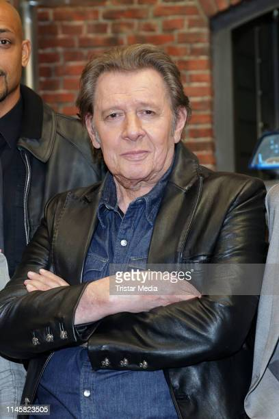 Jan Fedder attends a photocall on the set of ARD TV series 'Grossstadtrevier' on May 24 2019 in Hamburg Germany