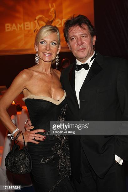 Jan Fedder with wife Marion at the 60th Bambi award In Oberrheinhalle in Offenburg