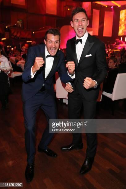 Jan Frodeno Iron Man winner 2019 and Niklas Kaul during the German Sports Media Ball at Alte Oper on November 9 2019 in Frankfurt am Main Germany