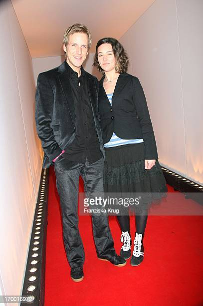 Jan Hahn and Alissa Jung At The Night Of Glamour At 5 years Glamour In The Parochial Church in Berlin