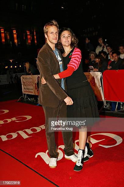 Jan Hahn and Alissa Jung On In The Germany premiere of In the shoes my sister in Cinestar Sony Center in Berlin 041105
