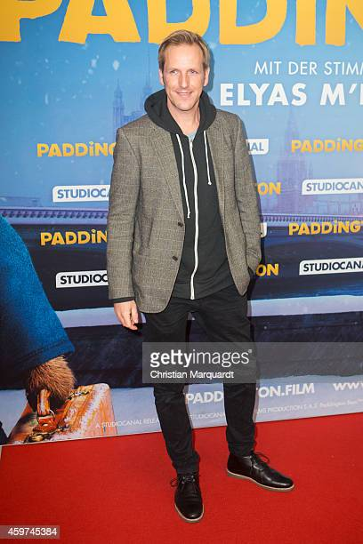 Jan Hahn attends the German premiere of the film 'Paddington' at Zoo Palast on November 30 2014 in Berlin Germany