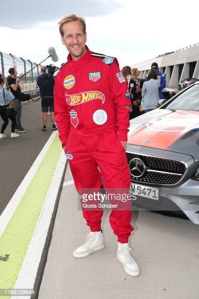 Jan Hahn during the charity racing Place to B for the benefit of Ein Herz fuer Kinder on September 5 2019 in Leipzig Germany