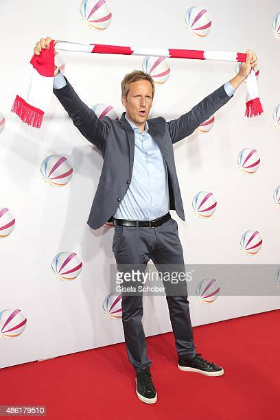 Jan Hahn during the premiere of the film 'Die Udo Honig Story' at Gloria Palast in Munich on September 1 2015 in Munich Germany