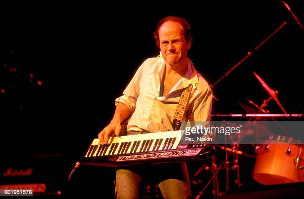 Jan Hammer at the Aire Crown Theater in Chicago, Illinois, January 29, 1982.