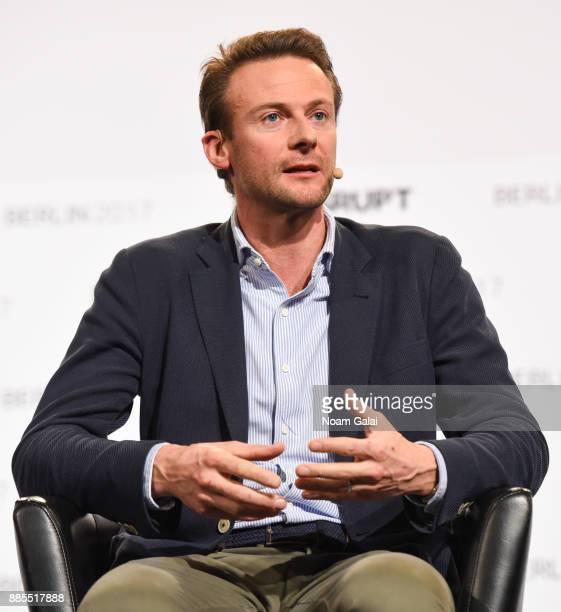 Jan Hammer of Index Ventures speaks at TechCrunch Disrupt Berlin 2017 at Arena Berlin on December 4, 2017 in Berlin, Germany.