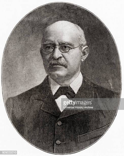 Jan Hendrik Hofmeyr aka Onze Jan 'our Jan' in Dutch 1845 – 1909 South African politician From The Century Edition of Cassell's History of England...