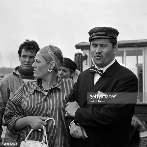 Jan Himp und die kleine Brise, Fernsehfilm, Deutschland 1966, Regie: Arthur Maria Rabenalt, Darsteller: Ulli Lommel, Kathrina Mayberg, Gila von...