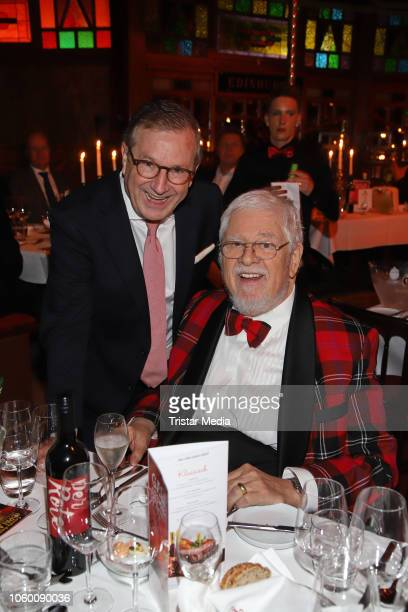 Jan Hofer and Bill Ramsey during the Cornelia Poletto Palazzo Gala Premiere on November 10 2018 in Hamburg Germany