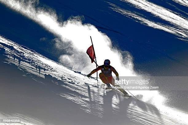 Jan Hudec of Canada competes during the Audi FIS Alpine Ski World Cup Men's Downhill Training on December 02 2014 in Beaver Creek Colorado