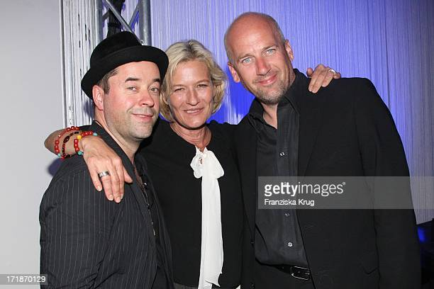 "Jan Josef Liefers And Suzanne Von Borsody And Jens Schniedenharn In The ""Platinum Engagement Ring Store Opening Party for 10 Marrying"" in Erfurt"