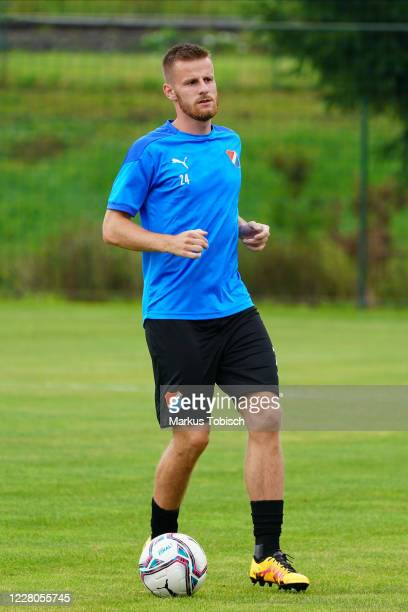 Jan Juroska of Banik Ostrava during the Friendly match between TSV prolactal Hartberg and FC Banik Ostrava at RM-Stadion on August 15, 2020 in...