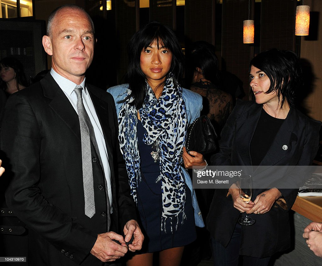 Jan Kennedy and Sue Webster attend private dinner hosted by AnOther Magazine to celebrate the latest cover star Bjork at Sake No Hana on September 20, 2010 in London, England.