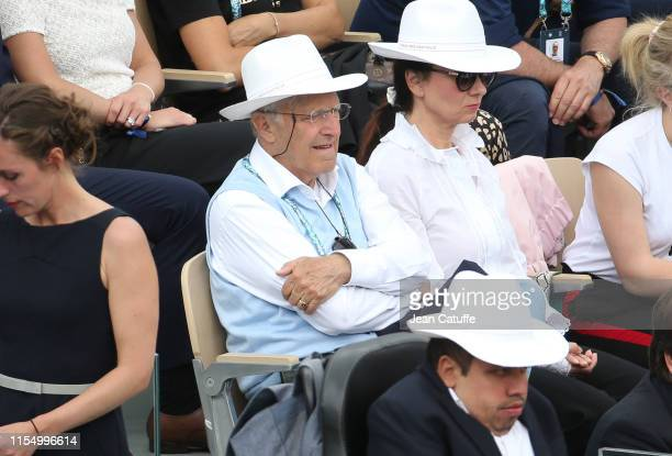 Jan Kodes attends the men's final during day 15 of the 2019 French Open at Roland Garros stadium on June 9 2019 in Paris France