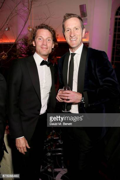 Jan Koeppen and Will Greenwood attend The Borne Wonderland Gala 2017 at 8 Northumberland Avenue on November 16 2017 in London England
