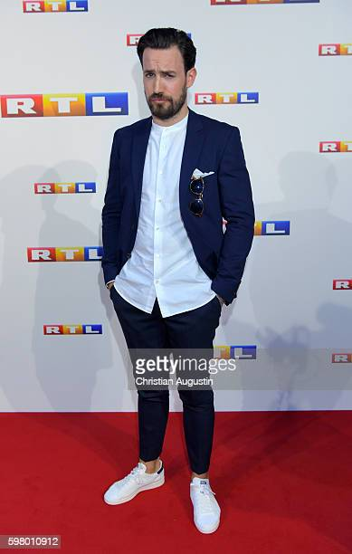 Jan Koeppen attends photocall of RTL Program 2016/17 presentation at the REE Location on August 30, 2016 in Hamburg, Germany.