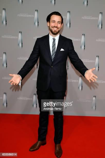 Jan Koeppen attends the German Television Award at Rheinterrasse on February 2, 2017 in Duesseldorf, Germany.