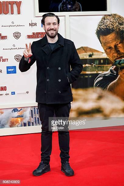 Jan Koeppen attends the 'Off Duty' German premiere on February 03, 2016 in Berlin, Germany.