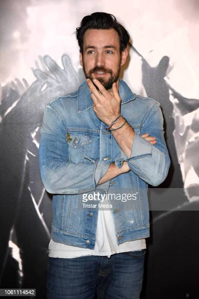Jan Koeppen attends the photo call during the Semmel Concerts Press Lunch at Verti Music Hall on November 13, 2018 in Berlin, Germany.