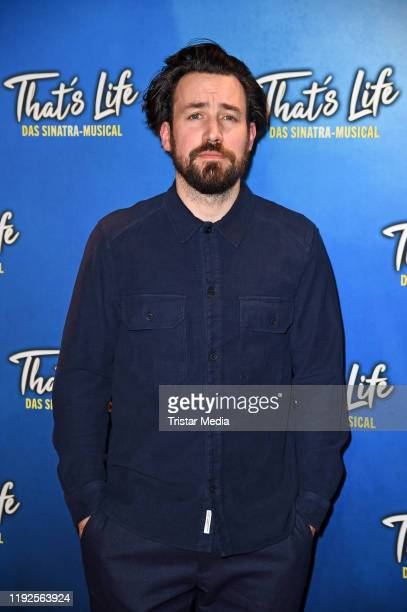 """Jan Koeppen attends the """"That's Life - The Sinatra Musical"""" premiere at Theater am Potsdamer Platz on January 8, 2020 in Berlin, Germany."""