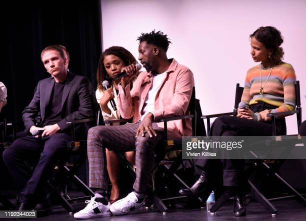 Jan Komasa Ladj Ly and Mati Diop attend Shortlisted Best International Feature Film Panel at the 31st Annual Palm Springs International Film Festival...