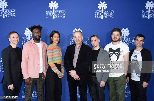 Jan Komasa Ladj Ly Mati Diop V‡clav Marhoul Tanel Toom Kantemir Balagov and Barnab‡s T—th attend Shortlisted Best International Feature Film Panel at...