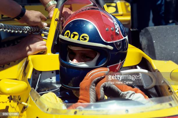 Jan Lammers EnsignFord N180 Grand Prix of France Circuit Paul Ricard 29 June 1980