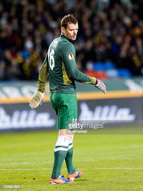 Jan Lastuvka of FC Dnipro Dnipropetrovsk in action during the UEFA Europa League group stage match between AIK Solna and FC Dnipro Dnipropetrovsk...