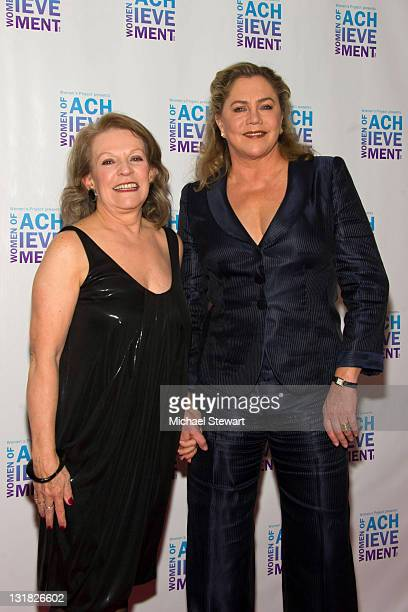 Jan Leeming and actress Kathleen Turner attend the 26th Annual Women's Project's Women of Achievement Gala at Espace on March 7 2011 in New York City