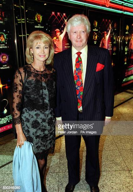 """Jan Leeming, arriving at the Empire Leicester Square for the Gala Charity Screening of """"Whatever Happened to Harold Smith?"""". 28/3/01: Former..."""