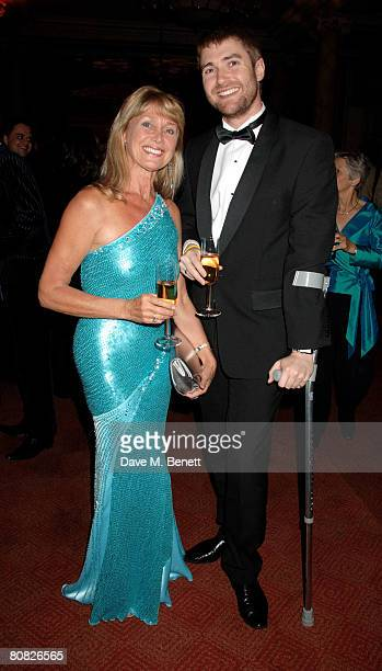 Jan Leeming attends the afterparty following the press night of 'Gone With The Wind' at the Waldorf Hotel April 22 2008 in London England
