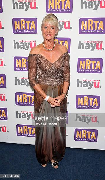 Jan Leeming attends the hayu National Reality TV Awards at Porchester Hall on September 29 2016 in London England