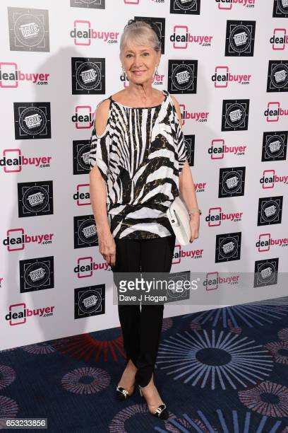 Jan Leeming attends the TRIC Awards 2017 at The Grosvenor House Hotel on March 14 2017 in London England
