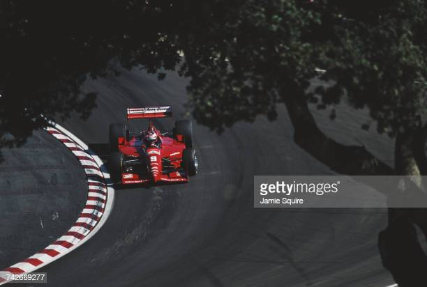 Jan Magnussen of Denmark drives the Hogan Penske Racing Penske PC25 Mercedes IC 108C during the Championship Auto Racing Teams 1996 PPG Indy Car...