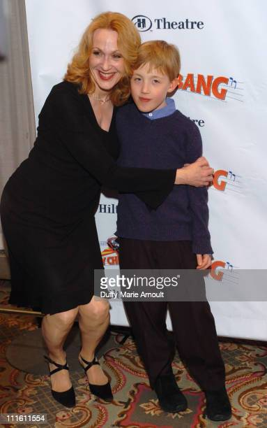 """Jan Maxwell and Will Maxwell during """"Chitty Chitty Bang Bang"""" Broadway Opening Night - Curtain Call and After Party at The Hilton Theatre and Hilton..."""
