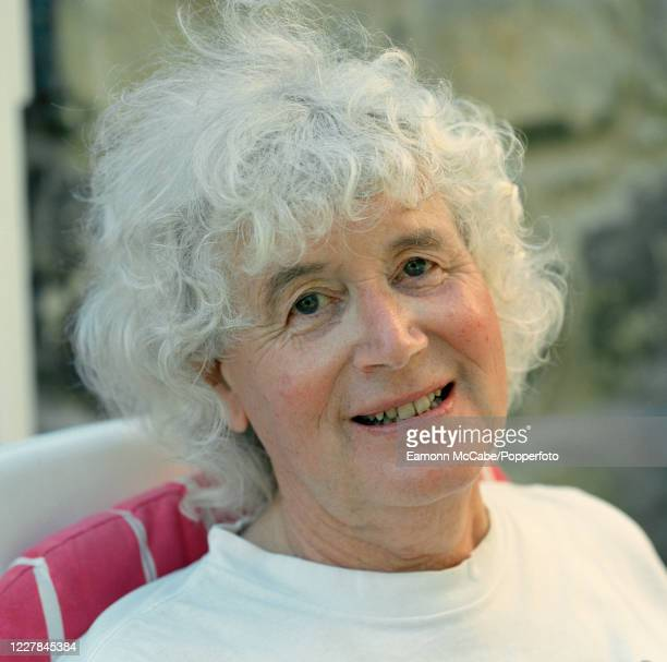 Jan Morris, Welsh historian and travel writer, 31st July 2001. As a correspondent for The Times, Morris reported on Britain's successful Mount...