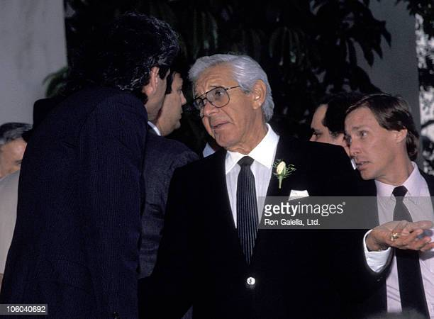 Jan Murray during Funeral for Danny Thomas February 8 1991 at Good Shepherd Church in Beverly Hills California United States