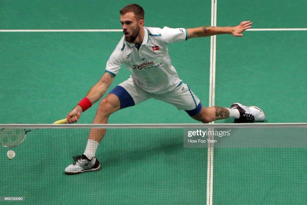 Badminton Malaysia Open - Day 2 : News Photo