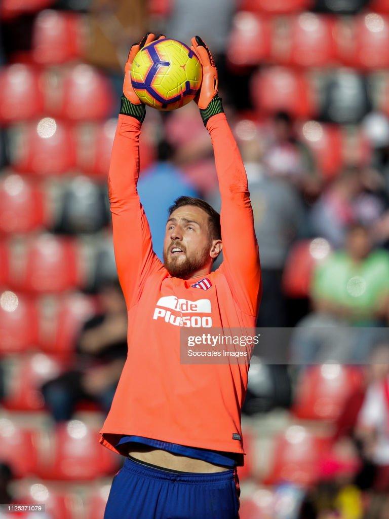 Rayo Vallecano v Atletico Madrid - La Liga Santander : Nieuwsfoto's