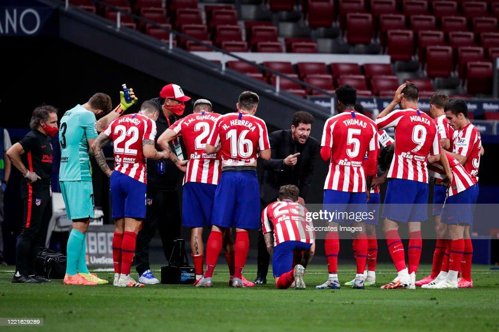 Atletico Madrid v Real Valladolid - La Liga Santander : News Photo