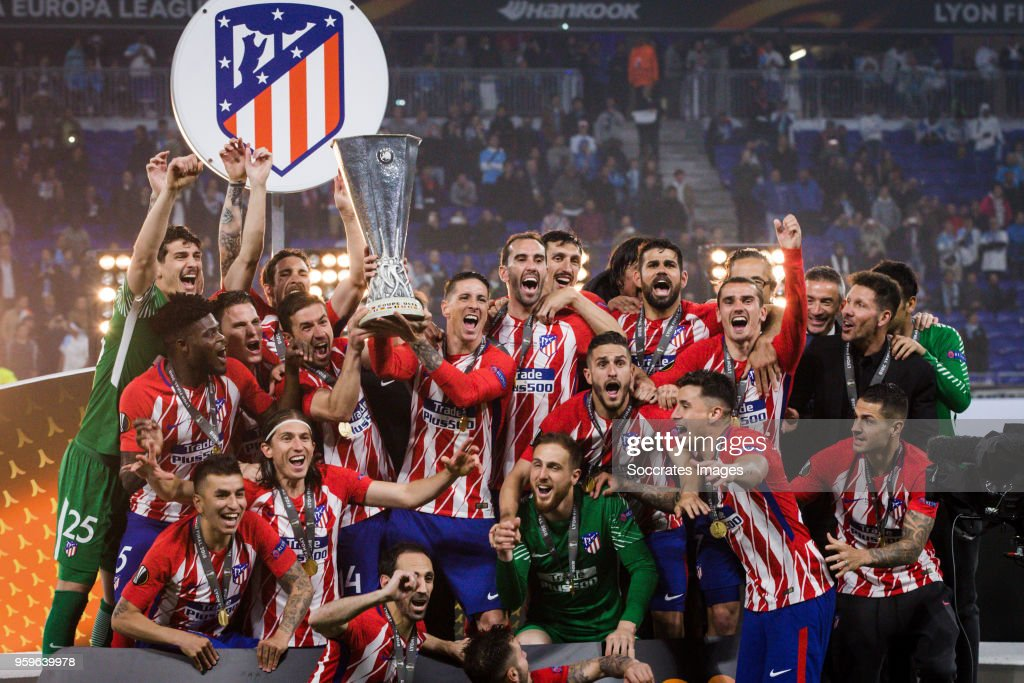 Olympique de Marseille v Club Atletico de Madrid - UEFA Europa League Final Previews