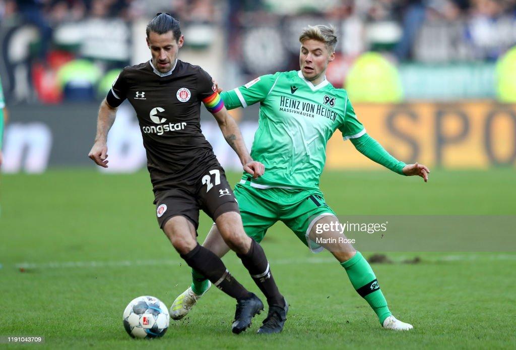 FC St. Pauli v Hannover 96 - Second Bundesliga : News Photo