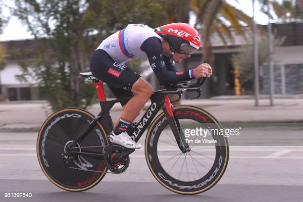 Jan Polanc of Slovenia during the 53rd TirrenoAdriatico 2018 Stage 7 a 105km Individual Time Trial stage in San Benedetto Del Tronto on March 13 2018...