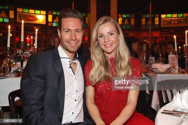 Jan Riecken and KimSarah Brandts during the Cornelia Poletto Palazzo Gala Premiere on November 10 2018 in Hamburg Germany