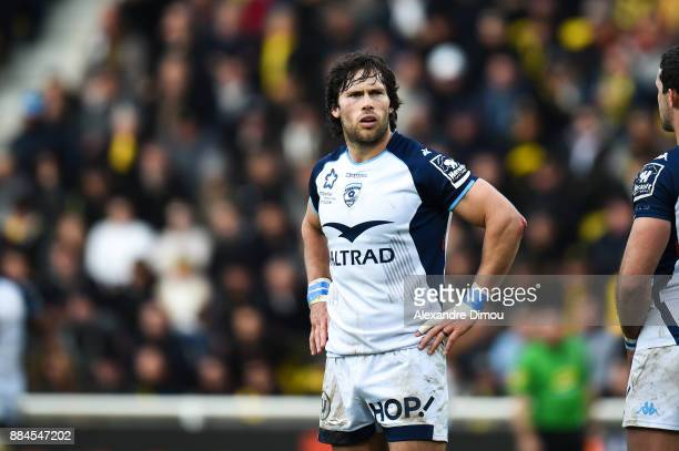 Jan Serfontein of Montpellier during the Top 14 match between La Rochelle and Montpellier on December 2 2017 in La Rochelle France