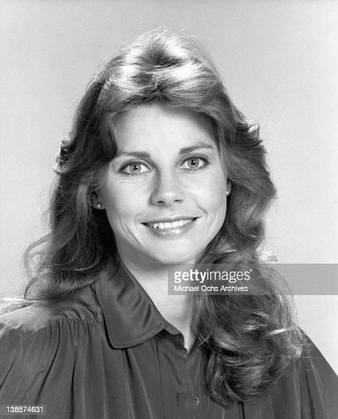 Jan Smithers in a publicity portrait from the television series 'WKRP In Cincinnati' 1980
