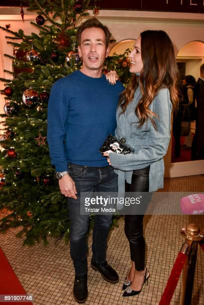 Jan Sosniok and Johanna Klum attend the photo call of the 'Der Lack ist ab' at Astor Film Lounge on December 13 2017 in Berlin Germany