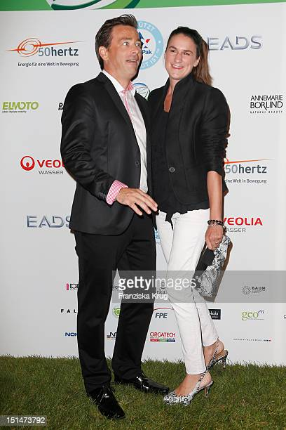 Jan Sosniok and Nadine Moellers attend the Clean Tech Media Award at Tempodrom on September 7 2012 in Berlin Germany