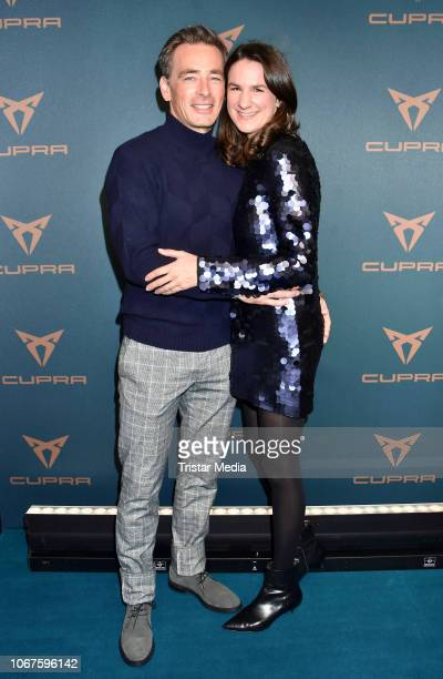 Jan Sosniok and Nadine Sosniok during the Cupra x Berlin Night by Seat event at U3Tunnel on November 30 2018 in Berlin Germany