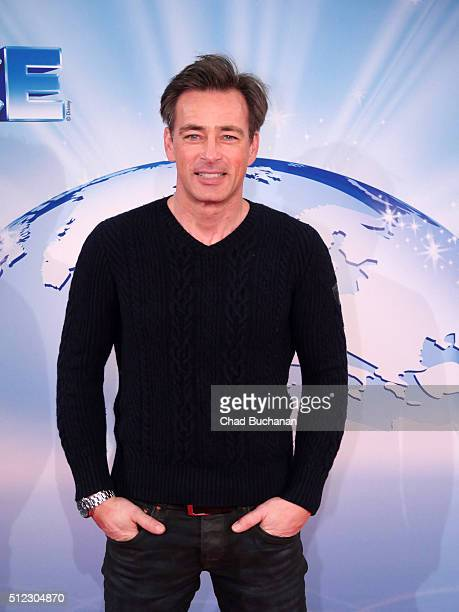Jan Sosniok attends the 'Disney On Ice Eine fantastische Reise' Berlin Premiere at the Velodrom on February 25 2016 in Berlin Germany